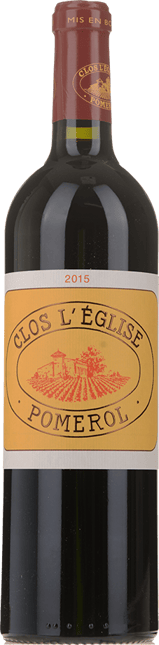 CLOS L'EGLISE, Pomerol 2015