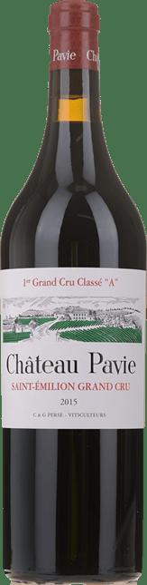 CHATEAU PAVIE 1er grand cru classe (A), St-Emilion 2015