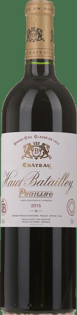 CHATEAU HAUT-BATAILLEY 5me cru classe, Pauillac 2015
