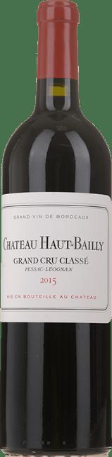 CHATEAU HAUT-BAILLY Grand cru classe, Pessac-Leognan 2015
