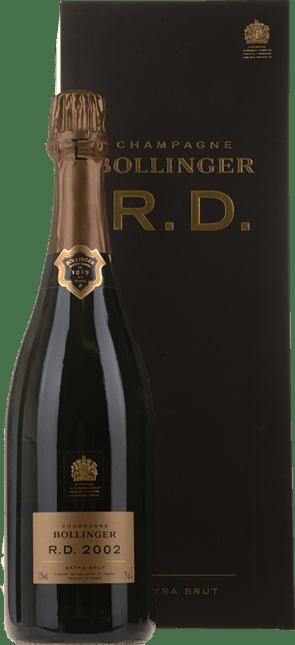 BOLLINGER R.D. Extra Brut, Champagne 2002