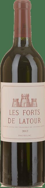 LES FORTS DE LATOUR Second wine of Chateau Latour, Pauillac 2012