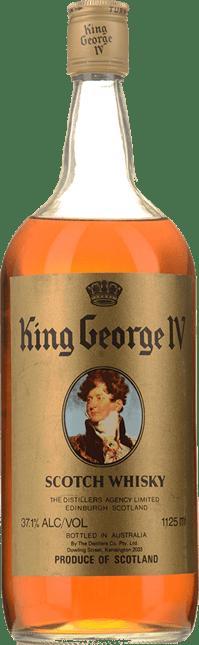 KING GEORGE 4TH Scotch Wisky, Scotland NV