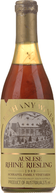 BETHANY WINES Auslese Riesling, Barossa Valley 1989