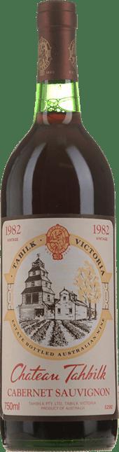 TAHBILK WINES Cabernet Sauvignon, Nagambie Lakes 1982