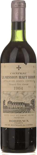 CHATEAU LA MISSION-HAUT-BRION Cru classe, Graves 1964