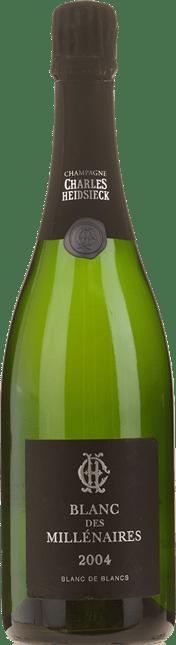 CHARLES HEIDSIECK Blanc des Millenaires, Blanc de Blancs Brut, Champagne 2004