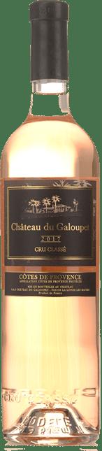 CHATEAU GALOUPET Cru Classe Rose, Cotes de Provence 2017