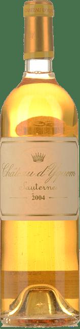 CHATEAU D'YQUEM 1er cru superieur, Sauternes 2004