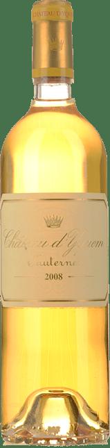 CHATEAU D'YQUEM 1er cru superieur, Sauternes 2008