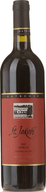 DUTSCHKE WINES St Jakobi Shiraz, Barossa Valley 2002