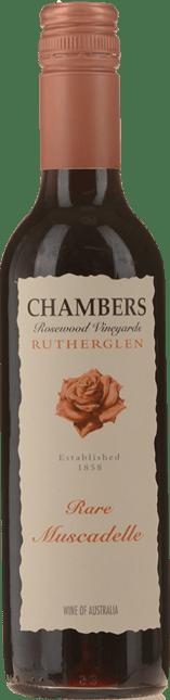 CHAMBERS ROSEWOOD WINERY Rare Muscadelle, Rutherglen NV