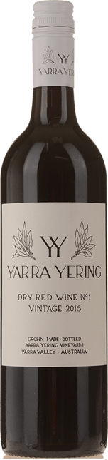 YARRA YERING Dry Red Wine No.1 Cabernets, Yarra Valley 2016