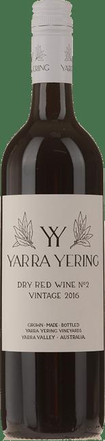 YARRA YERING Dry Red Wine No.2 Shiraz, Yarra Valley 2016