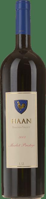 HAAN Prestige Merlot, Barossa Valley 2003