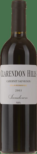 CLARENDON HILLS Sandown Vineyard Cabernet Sauvignon, McLaren Vale 2003