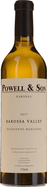 POWELL AND SON Roussanne Marsanne, Barossa Valley 2017