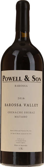 POWELL AND SON Grenache Shiraz Mataro, Barossa Valley 2016