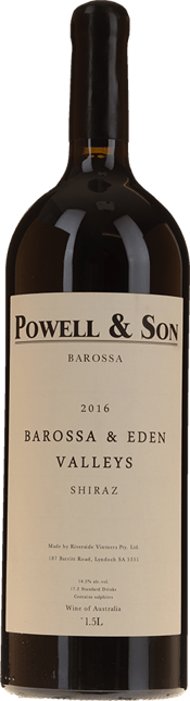 POWELL AND SON Barossa & Eden Valleys Shiraz, Barossa 2016