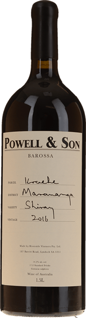 POWELL AND SON Kraehe Shiraz, Barossa Valley 2016