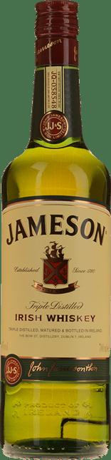 JAMESON 40% ABV Irish Whiskey, Ireland NV