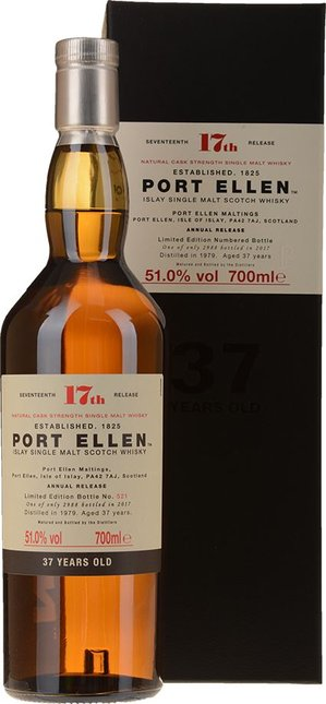 PORT ELLEN Limited Edition 1979 37 Year Old Whisky 51% ABV, Islay NV