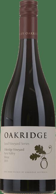 OAKRIDGE WINES Local Vineyard Series Oakridge Vineyard Shiraz, Yarra Valley 2015