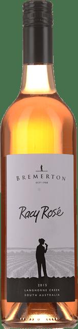 BREMERTON WINES Racy Rose, Langhorne Creek 2015