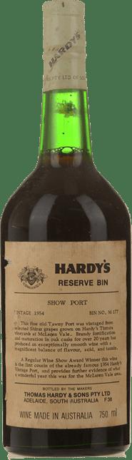 HARDY'S Bin M177 Show Tawny Port, McLaren Vale 1954