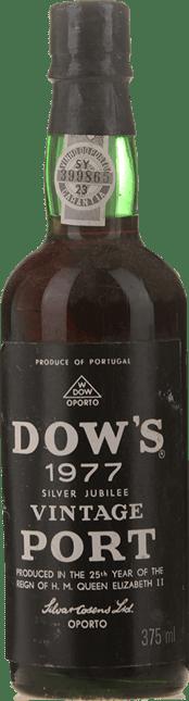 DOW'S Vintage Port, Oporto 1977