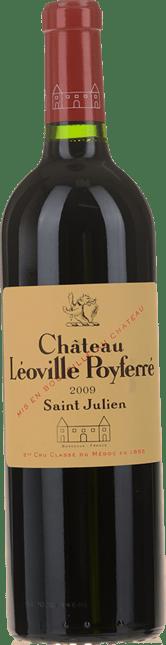 CHATEAU LEOVILLE-POYFERRE 2me cru classe, St-Julien 2009