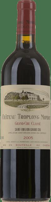 CHATEAU TROPLONG-MONDOT 1er grand cru classe (B), St-Emilion 2005
