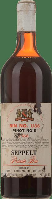 SEPPELT Bin no. U36 Pinot Noir, McLaren Vale 1966