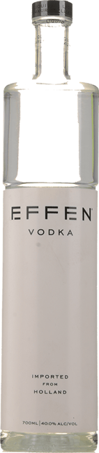EFFEN Original ABV 40% Vodka, Holland NV