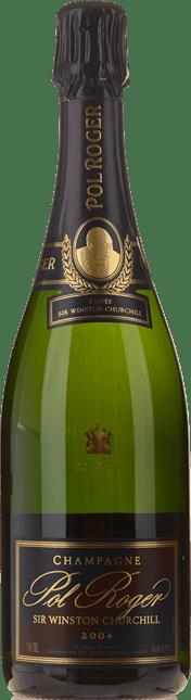 POL ROGER Cuvee Sir Winston Churchill Brut, Champagne 2004