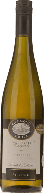 RICHMOND GROVE Limited Release Watervale Riesling, Clare Valley 2002
