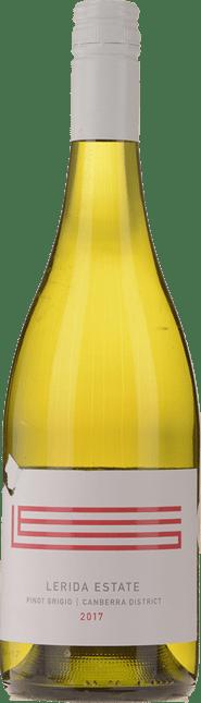 LERIDA ESTATE Pinot Grigio, Canberra District 2017