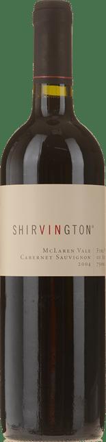 SHIRVINGTON Cabernet Sauvignon, McLaren Vale 2004