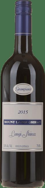 MOUNT LANGI GHIRAN VINEYARDS Langi Shiraz, Grampians 2015