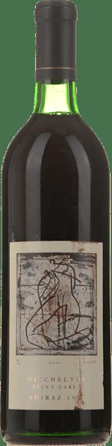 MITCHELTON WINES Print Label Shiraz, Goulburn Valley 1990