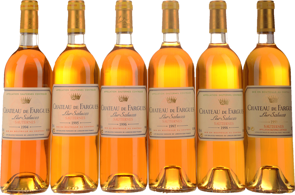CHATEAU DE FARGUES Discovery Case 6 Bottle Set, Sauternes MV