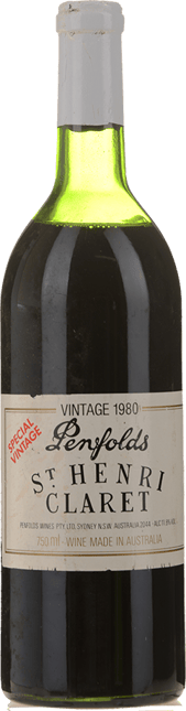 PENFOLDS St. Henri Shiraz, South Australia 1980