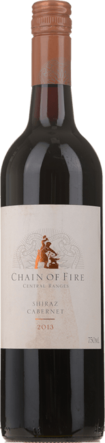 OATLEY WINES Chain of Fire Shiraz Cabernet, Central Ranges 2013