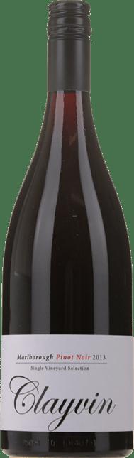 GIESEN ESTATE WINES Single Vineyard Selection Clayvin Pinot Noir, Marlborough 2013