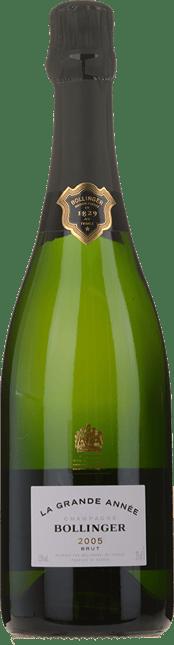 BOLLINGER La Grande Annee Brut, Champagne 2005