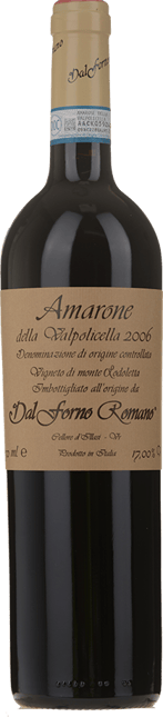 DAL FORNO ROMANO, Amarone della Valpolicella DOCG 2006