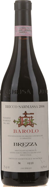 GIACOMO BREZZA Bricco Sarmassa, Barolo DOCG 2006