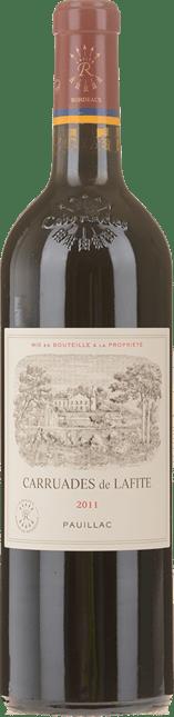CARRUADES DE LAFITE Second wine of Chateau Lafite, Pauillac 2011