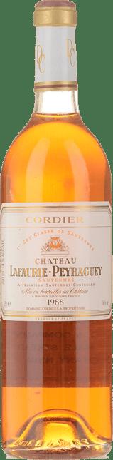 CHATEAU LAFAURIE-PEYRAGUEY 1er cru classe, Sauternes 1988