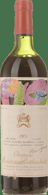 CHATEAU MOUTON-ROTHSCHILD 1er cru classe, Pauillac 1975